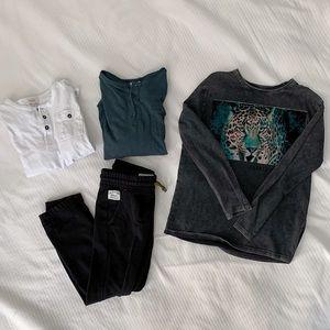Zara Boys Sweatpants and t-shirt bundle